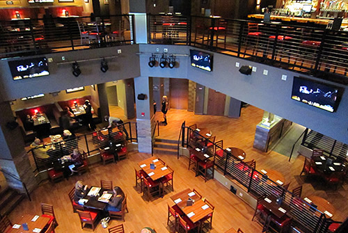 Hard Rock Cafe Four Winds Main Floor